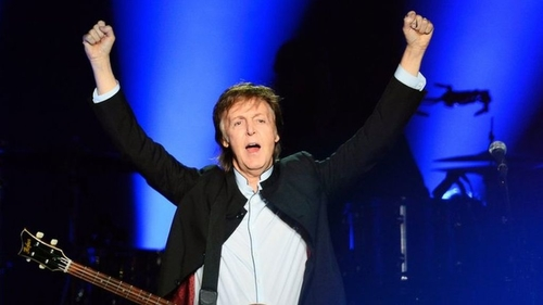 Sir Paul McCartney sues Sony in the US over Beatles songs