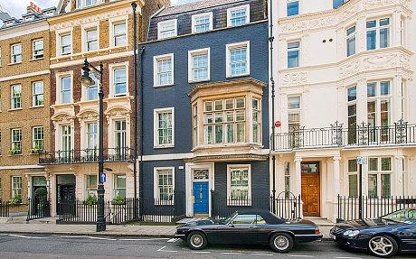 In vendita la casa di Gianni Versace a Londra