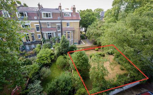 Un pezzo di giardino che vale piu' di un milione di sterline