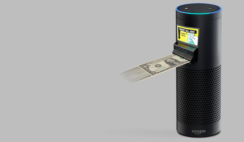 The Amazon Echo...no click payments