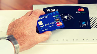 150% rise in contact less payments in the UK