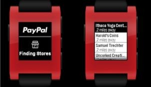 PayPal launches Pebble smartwatch