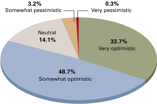 Optimism abounds for financial advice industry in 2015 Vast majority of advisers expect the U.S. eco