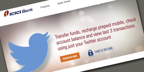ICICI Twitter banking puts all customers at risk