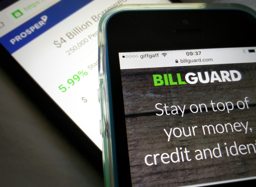 P2P lending platform Prosper Marketplace acquires personal finance-tracking startup BillGuard for $3