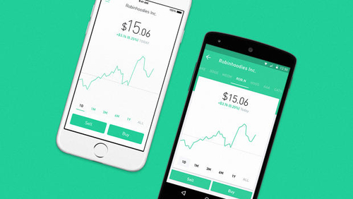 ROBINHOOD BRINGS COMMISSION-FREE STOCK TRADING TO MORE APPS THE STARTUP'S SERVICE FOR INVESTORS IS M