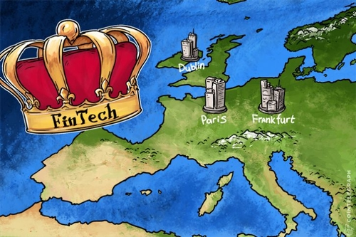 London's Fintech Crown Up For Grabs After Brexit As Dublin, Paris, Frankfurt Cajole Bankers