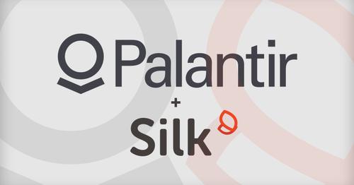 Palantir acquires data visualization startup Silk