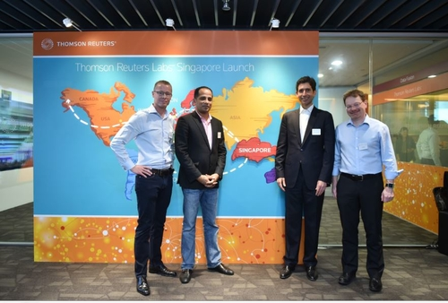 Thomson Reuters unveils innovation lab in Singapore