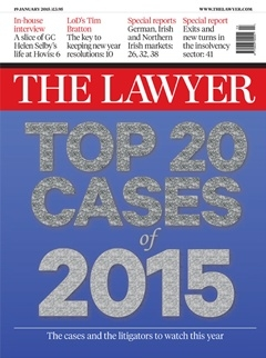 The Lawyer's top 20 cases of 2015 - the international theme continues