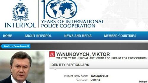Британский юрист об Интерполе и Януковиче