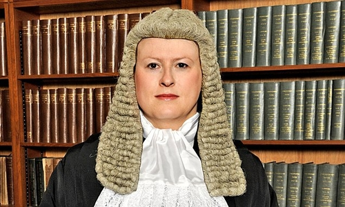 All rise for UK's first transgender judge