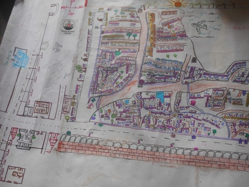 Mapping and Children Urban Planning in Indian informal settlements
