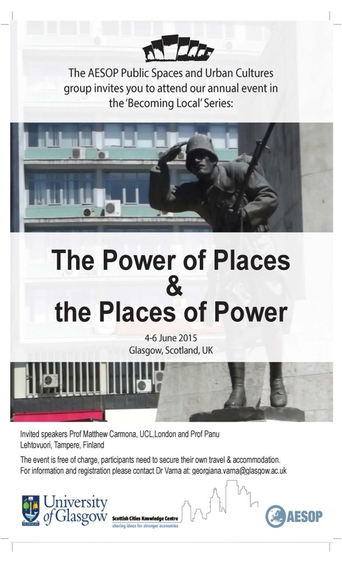 The Power of Places and the Places of Power