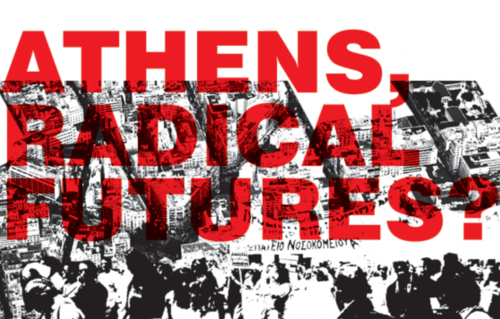 Structural crises and its impact on urban space in Athens, Thursday 20th Nov, 1pm