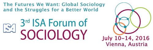 Call for abstracts for the third ISA Forum of Sociolog