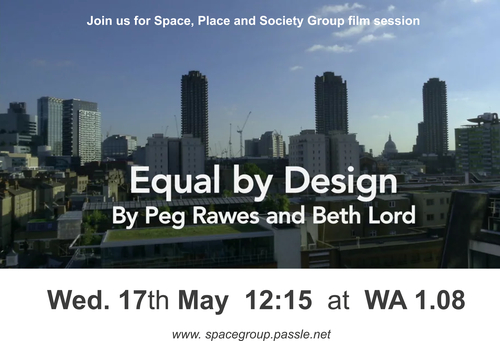 EQUAL BY DESIGN. Documentary film session