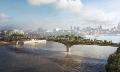 The Garden Bridge Proposal in London