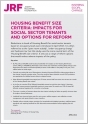 Are the government's housing welfare reforms working?