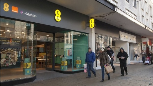 BT buys out EE