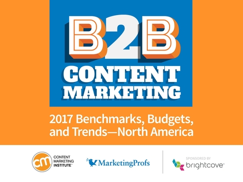 Content marketing takes a turn for the better: New 2017 Research