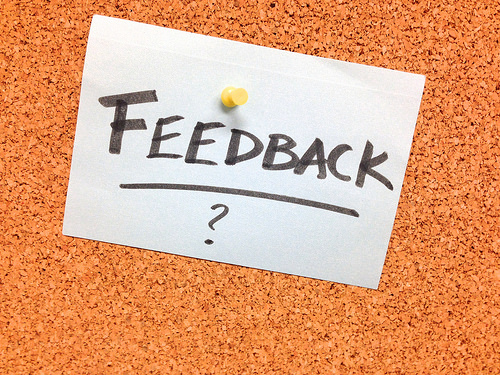 It's not about you in client feedback. So choose your questions carefully!