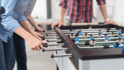 Office perks that work: is it time to get rid of the foosball table?