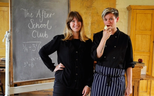 Pop-up restaurant offers posh school dinners