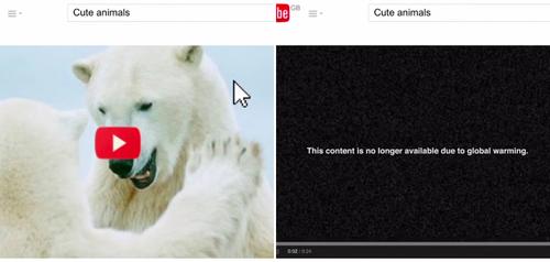 La WWF détourne ses vidéos YouTube pour sensibiliser aux animaux en voie d'extinction