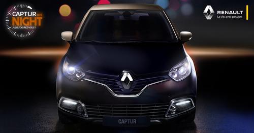 Captur The Night : Renault nous refait le même coup que l'an passé