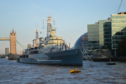 Using HMS Belfast as an event venue