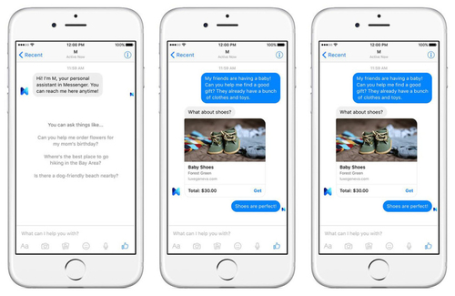 Facebook M - A New Type Of Virtual Assistant