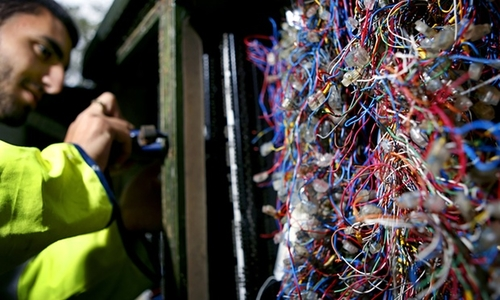 BT's internet service fails