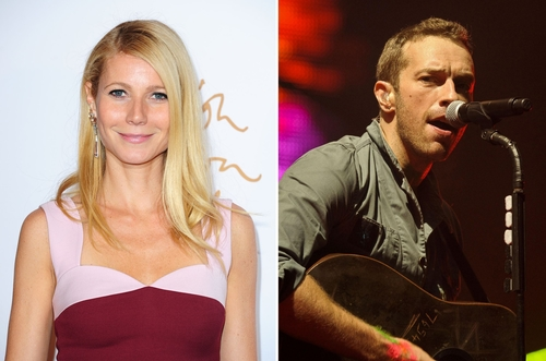 Why did Chris Martin wait for two years before signing the divorce papers?