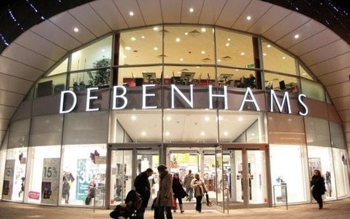 Debenhams and the Wall of Shame