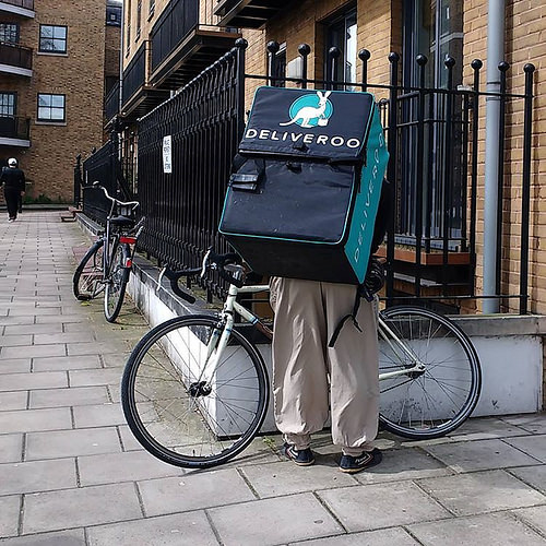 Deliveroo riders on track to follow in Uber's footsteps