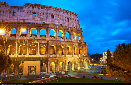 ICYMI: All roads lead to Rome (including the 2024 Olympics, we hope!)