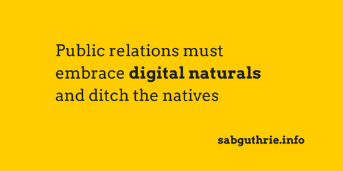 PR: naturally digital