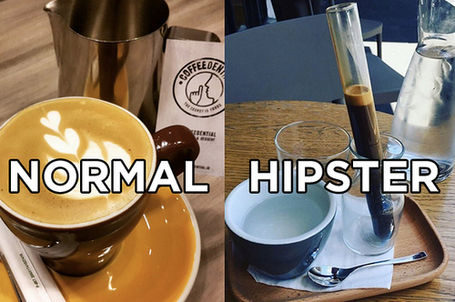 If you are targeting Hipsters, it's all in the packaging, sort of