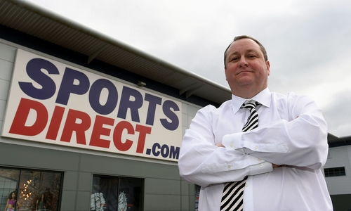 Mike Ashley's 'unexpected' defence of Sports Direct