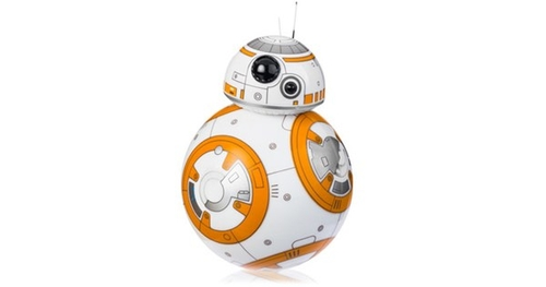 Is BB8 a secret agent for the Dark Side?