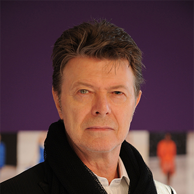 The internet innovator David Bowie