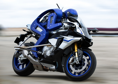 Is this the future for motorcycle couriers?