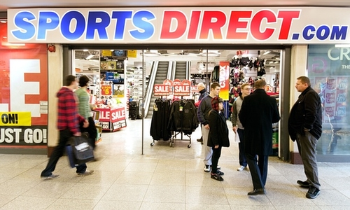 Sports Direct: at it again