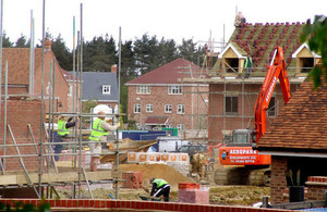 Government Figures show 25% Increase in New Build Housing