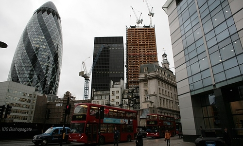 London office construction increases by 18%
