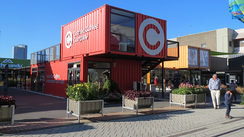 Are shipping containers the answer to sky high shopping centre rents?
