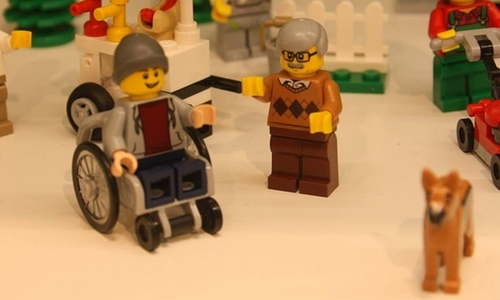 Is disability more visible - in lego??