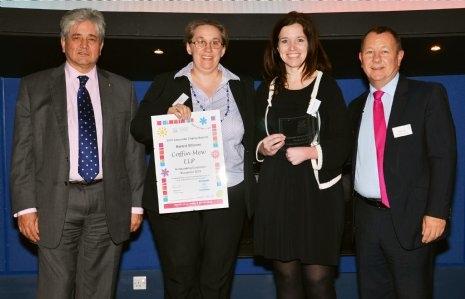 Coffin Mew win Charity Award