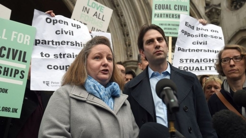 Civil Partnerships not available for heterosexual couples